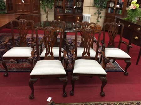 Maitland Smith Chippendale Dining Chairs