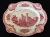 Johnson Brothers Pink Transferware - Large Serving Platter