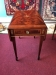 Heckman Flame Mahogany Inlaid Stand