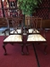 Set of Four Chippendale Chairs