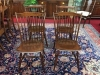 E.R. Buck Windsor Style Chairs