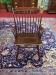 E.R. Buck Windsor Style Arm Chair