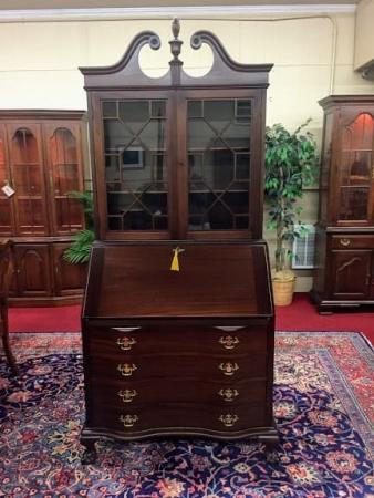 Refinished Maddox Secretary Desk