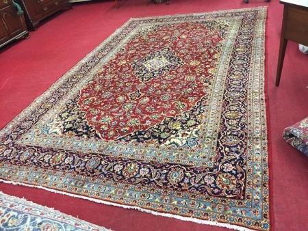 Kashan Persian Room Size Rug