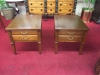 Vintage Hammary Cherry End Tables