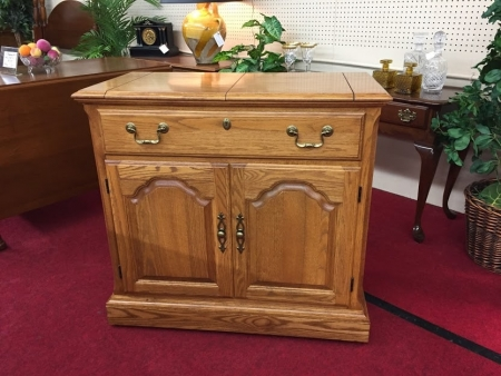 Pennsylvania House Oak Flip Top Server