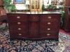 White Furniture Mahogany Inlaid Buffet