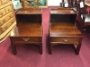 Cherry Two Tier End Tables