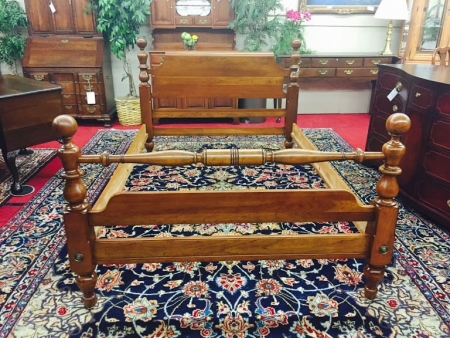 Kling Cherry Full Size Cannonball Bed