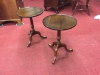 Small Cherry Pedestal Tables