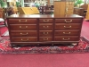 Union National Cherry Triple Dresser