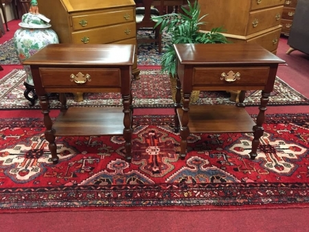 Kling Solid Cherry End Table Set