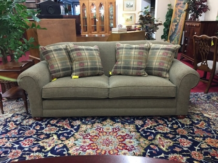 Schnadig Sofa with Throw Pillows
