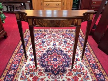Mahogany Inlaid Hall Table