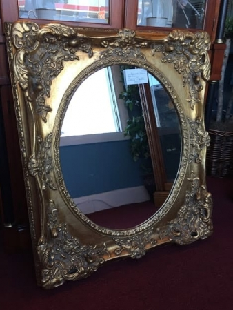 Reproduction Victorian Style Mirror