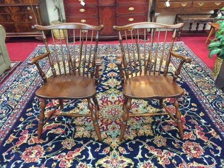 Pennsylvania House Cherry Arm Chairs