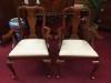 Henkel Harris Queen Anne Arm Chairs