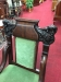 Antique Victorian Chair with Carvings
