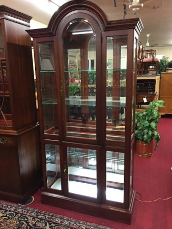 Pennsylvania House Arched Curio Cabinet