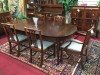 Biggs Mahogany Dining Table with Two Leaves
