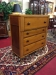 Antique Cherry Empire Chest with Mahogany Knobs