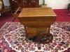 Vintage Oak Tea Cart