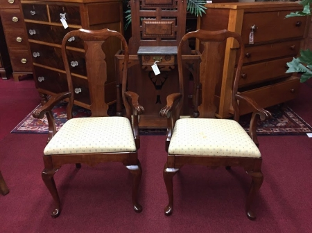Pennsylvania House Queen Anne Arm Chairs