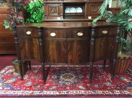 Antique Mahogany Sideboard by Potthast Brothers
