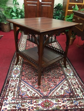 Antique Victorian Games Table