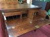 Antique Secretary Desk on Legs