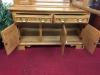 Keller Oak Hutch Cabinet