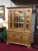 Keller Oak Hutch Cabinet