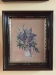 Antique Walnut Frame with Needlework Picture