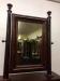Tilting Ogee Mahogany Mirror