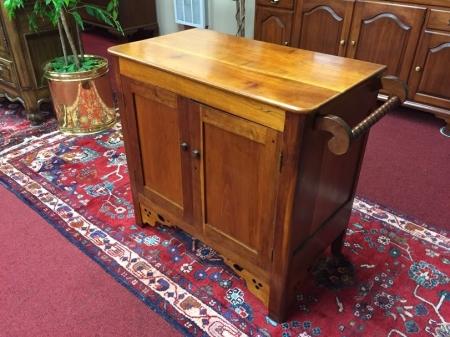 Antique Cherry Washstand Cabinet