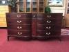 Vintage Mahogany Serpentine Dresser