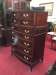 Vintage Mahogany Serpentine Chest of Drawers