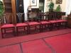 Vintage Georgetown Galleries Mahogany Chairs