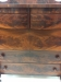 Luxurious Mahogany on this chest