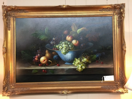 Large Still Life Giclee with Frame