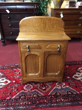 Antique Walnut Washstand
