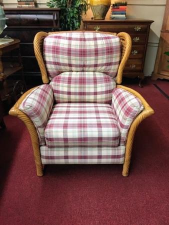 Lane Ventura Wicker Recliner Chair