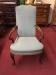 Hickory Chair Gooseneck Arm Chair