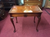 Mahogany Queen Anne Tea Table