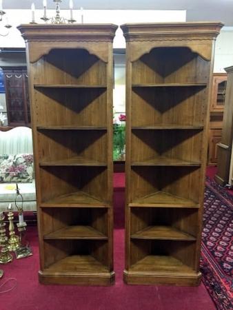 Ethan Allen Corner Shelves