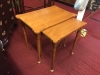 Ethan Allen Maple Nesting Tables