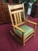 Oak Mission Style Rocking Chair