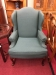 Sherrill Green Wing Back Chair