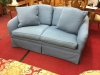 Hickory Chair Blue Loveseat