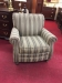 Smith Brothers Striped Arm Chair